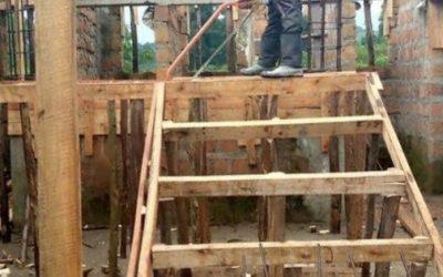 Rapid building progress this April
